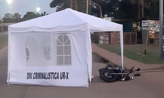 Otra tragedia con un motociclista en la ciudad de Posadas