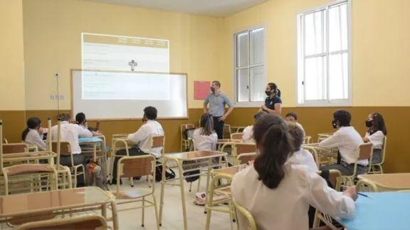 En Misiones la mitad de las escuelas ya están funcionando con la presencialidad completa