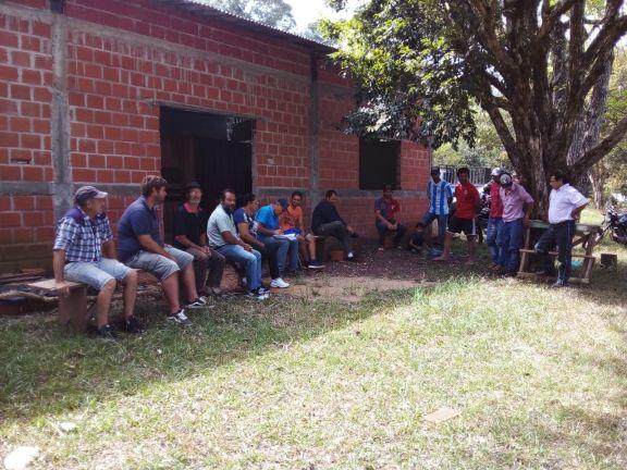 Por continuas amenazas y hostigamientos en disputa de tierra, familias se encuentran en estado de alerta