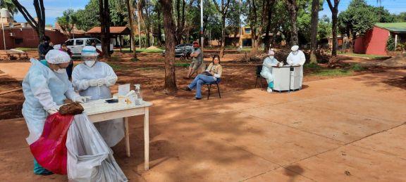 Covid-19: Virasoro sumó 31 casos en una sola jornada de testeos públicos