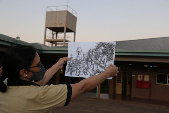 Mandové Pedrozo abre la jugada de artistas por próceres