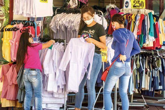 Inflación marzo:  4,8% en el país y  3,3% en el NEA
