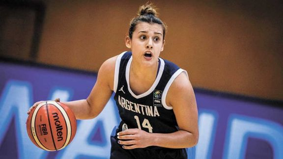 Florencia Chagas, la primera argentina elegida para la WNBA