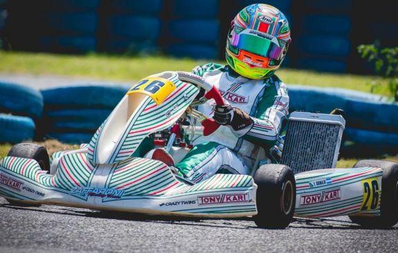 Grimaldi corre en Buenos Aires una fecha especial de la Rotax Bue