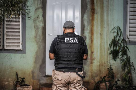 PSA allanó un kiosco narco en Villa Cabello