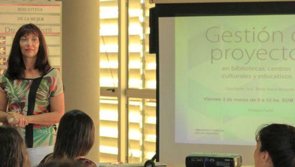 Parque del Conocimiento: se brindará una nueva capacitación virtual en gestión de proyectos en bibliotecas