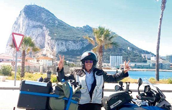 Migue en moto por... más de diez ciudades españolas
