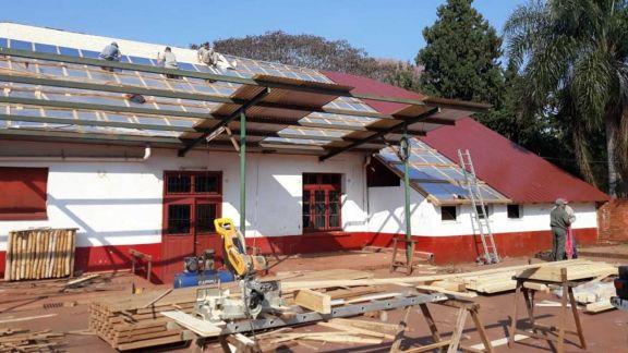 Donaciones desde Suiza para Helvecia y delivery en Jardín América