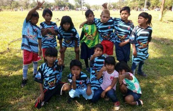 El Rayo se ingenió para asistir a los  niños en San Ignacio