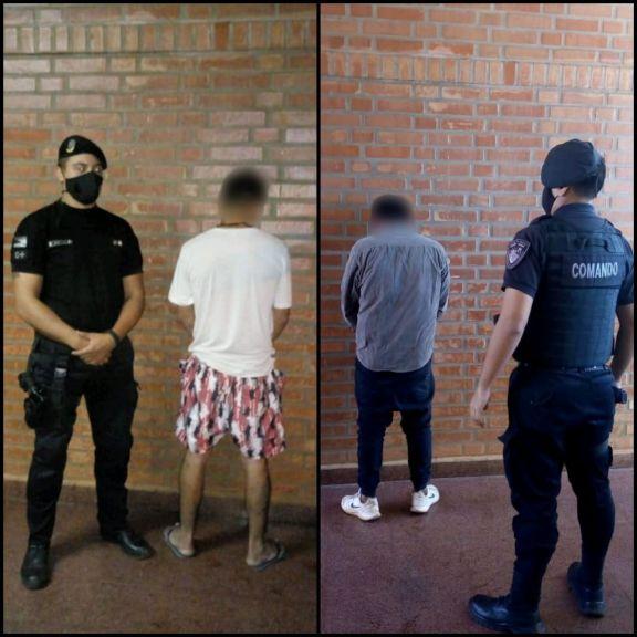 Detuvieron en la zona oeste a dos hombres que tenían cuentas pendientes con la justicia