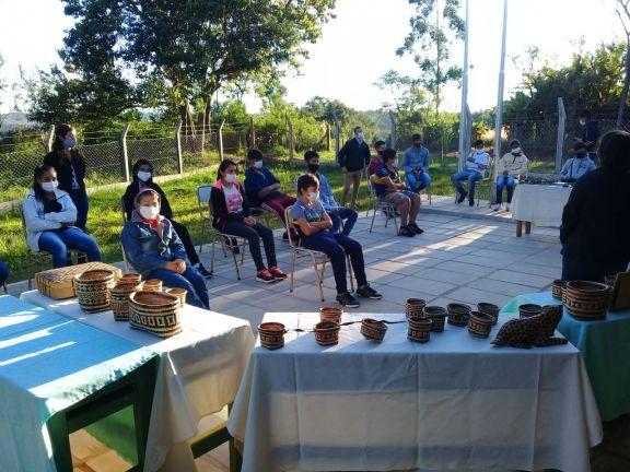 Celebran la Semana de los Pueblos Originarios en Pozo Azul