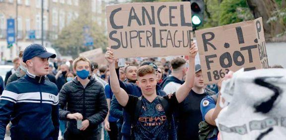 Europa: varios clubes  se bajaron de la Superliga  y el proyecto fracasaría