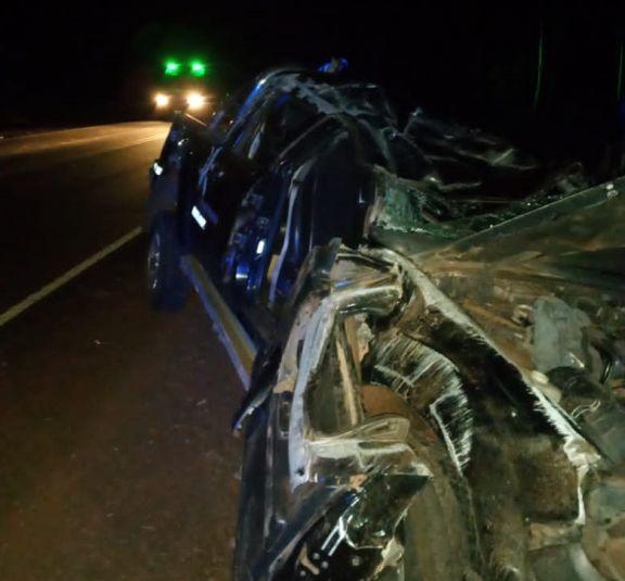 Despistó una camioneta al mando de un menor y con tres jóvenes como acompañantes