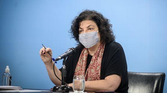 """Vizzotti: """"Argentina está viviendo el peor momento de la pandemia"""""""