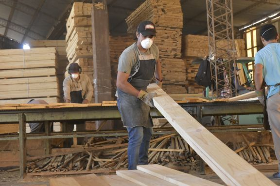 El consumo de madera tiene demanda en el mercado interno y con aumento en el mercado externo.