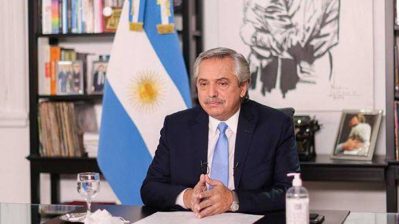 Alberto Fernández pidió justicia social en el reparto de vacunas