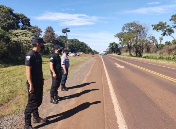 Nuevo corte de ruta en Puerto Esperanza