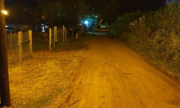 San Pedro: tras pedido de vecinos por mejor seguridad, colocan alumbrado público en el barrio 10 de Noviembre