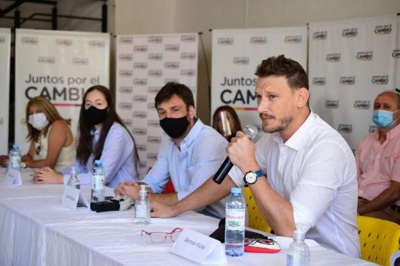 Juntos por el Cambio presentó sus candidatos a diputados provinciales