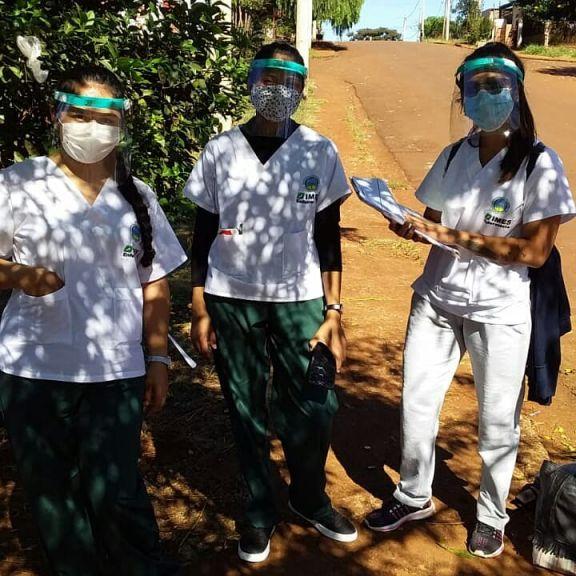 Interiorizándose de las necesidades, futuros enfermeros sampedrinos comenzaron las prácticas