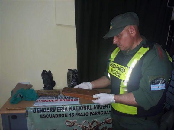 Misionero condenado por transportar más de 2 kilos de pasta base de cocaína pegada a su cuerpo