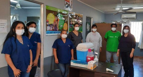 Suman nuevos centros de vacunación contra el Covid-19 en Posadas
