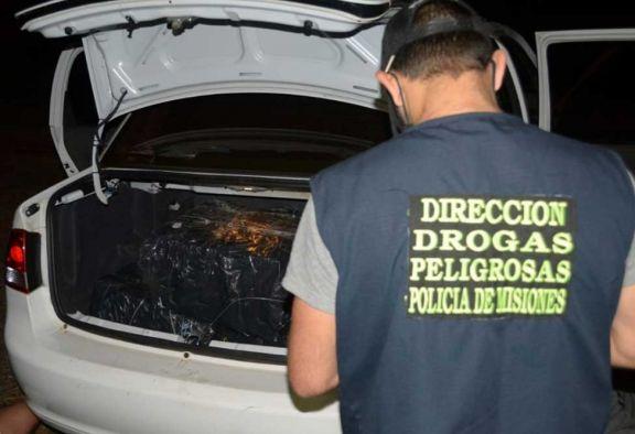 Operativos dejaron cinco detenidos y droga secuestrada