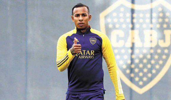 Boca quiere aprovechar su buen momento  contra el Santos