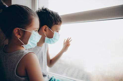 Covid en niños: cuadros leves y similares  a la gripe