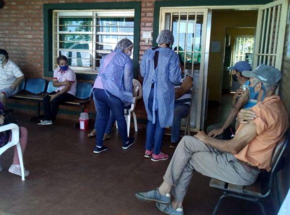 Vacunarán contra el Covid-19 en Caps de la zona rural de San Pedro