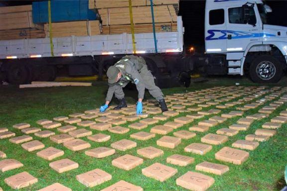 Camionero posadeño admitió que transportó 234 kilos de marihuana y fue condenado a 8 años de cárcel