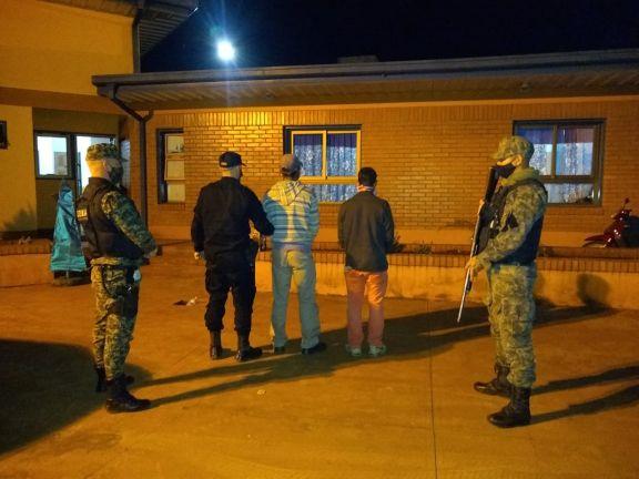 Delitos rurales: detuvieron a dos hombres por el hurto de 1.500 kilos de hoja verde de yerba mate