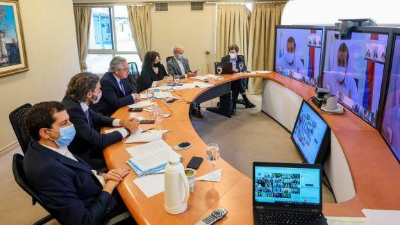 De Pedro y Vizzotti se reúnen con los gobernadores para analizar el plan de vacunación