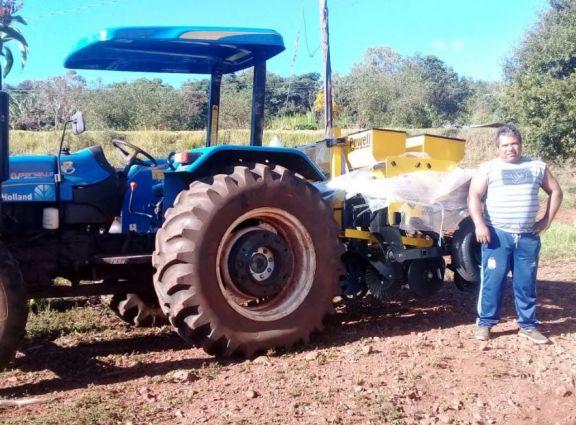 Pozo Azul: productores mejoran la cadena productiva mecanizando los cultivos