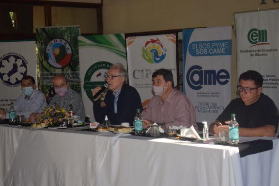 Los delegados de la Confederación Económica de Misiones se reunieron en Jardín América
