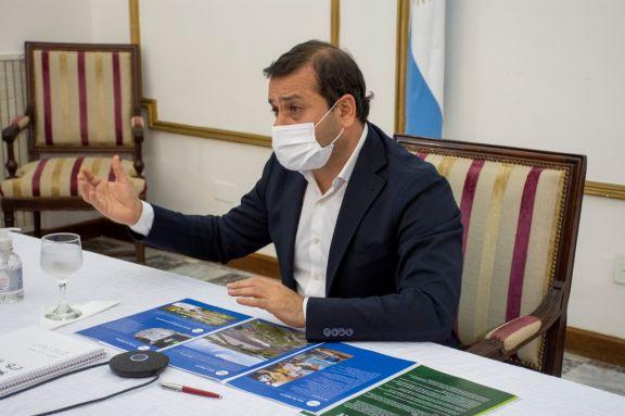 Herrera Ahuad habló del paso en Iguazú y otras fronteras