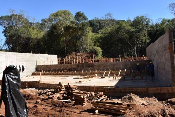 Avanza la obra de la nueva planta potabilizadora para San Pedro