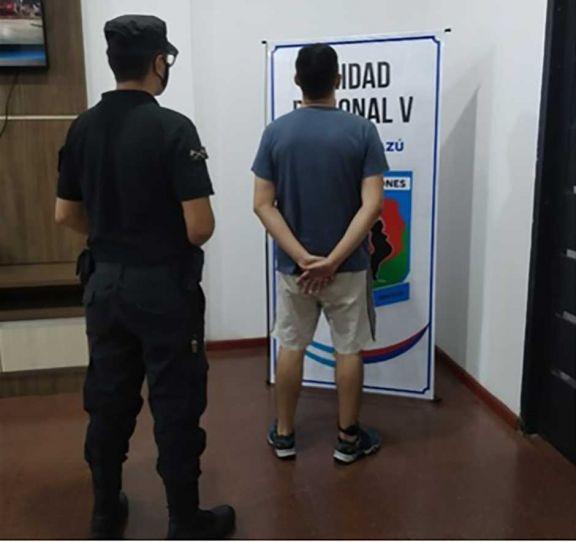 Volvió a la cárcel acusado de abusar a su hijo en Iguazú