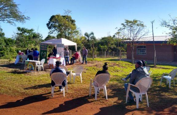 Operativo de salud y prevención en Puerto Leoni