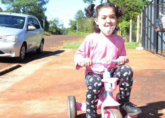 Jazmín, la guerrera de 5  años que venció al cáncer