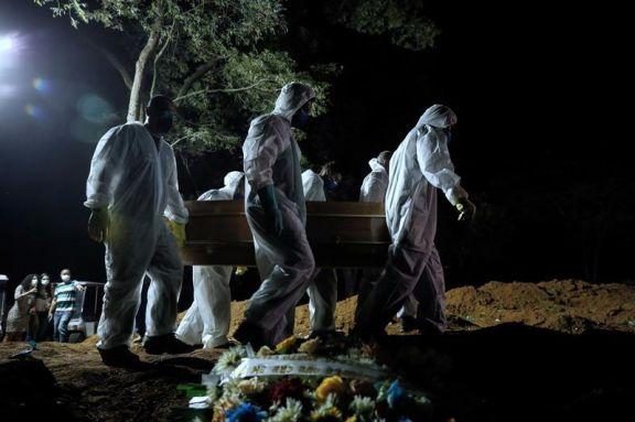 Por la pandemia, las muertes superaron los nacimientos en el sudeste de Brasil en abril