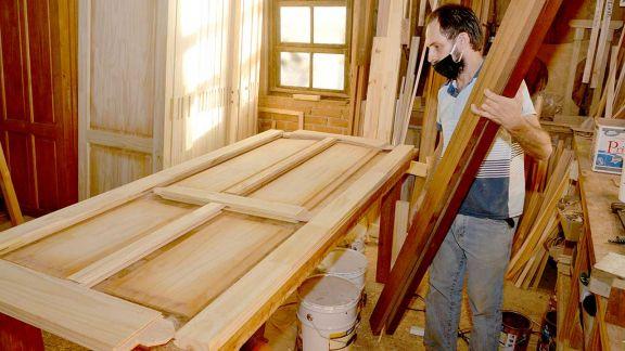 En el último año hubo un fuerte crecimiento en la fabricación de muebles de madera