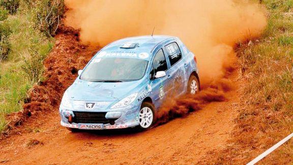 Doble emoción con el  rally y el podio de Rudito