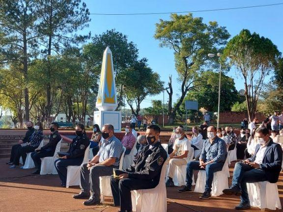 Con distanciamiento, Santo Pipó celebró el 93 aniversario de su fundación