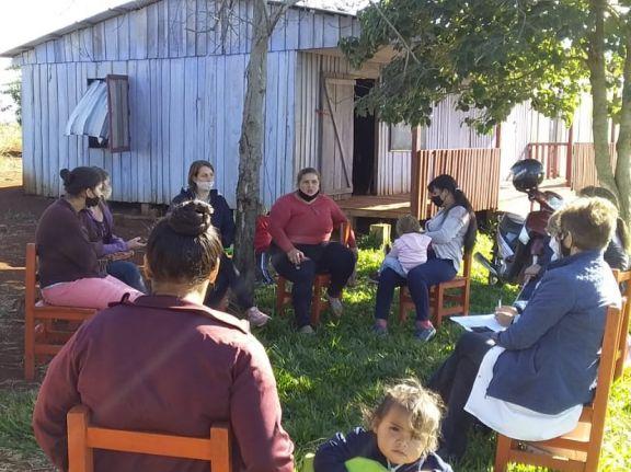 Puerto Argentino II: el municipio comprará el terreno para la escuela y avanza en la regularización de tierras