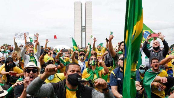 Brasil: temen que las marchas aceleren el ritmo de contagios