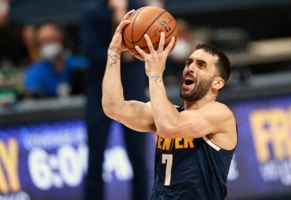 NBA: Campazzo logró un nuevo récord personal en la derrota de Denver