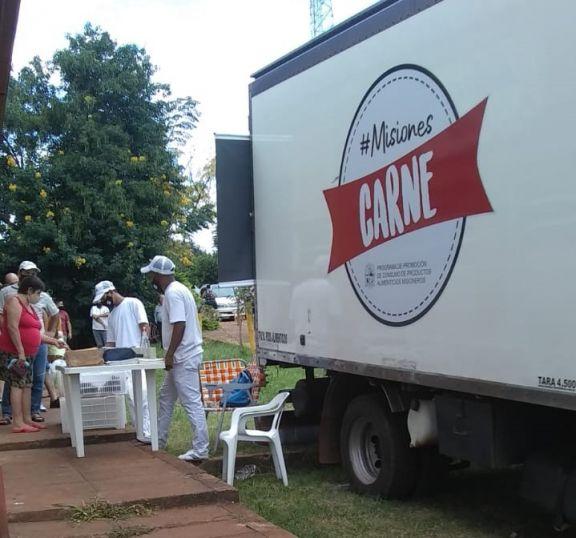 Misiones Carne con gran concurrencia en Leoni
