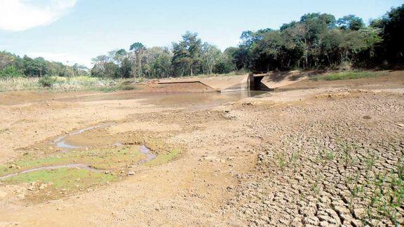 Se agrava la crisis hídrica en Bernardo de Irigoyen