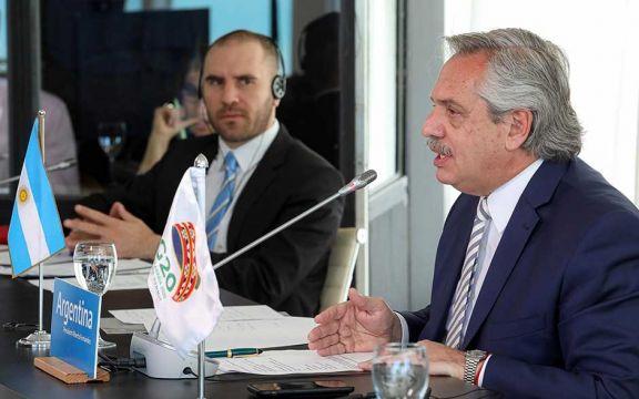 Alberto y Guzmán viajarán a Europa para negociar la deuda